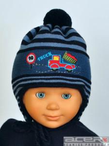 winter Mütze mit LKW