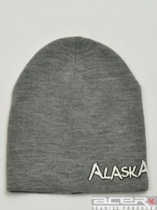 Grau Alaska Mütze