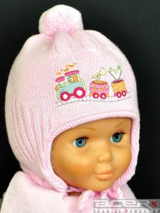 Mütze mit Zug