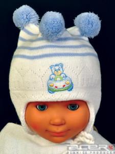 Mütze mitTeddybär