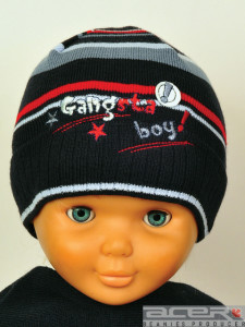 Gangsta beanie for boy