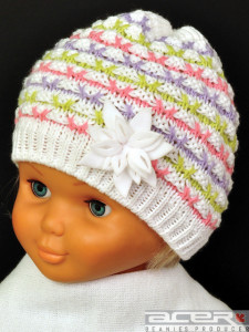 Spring beanie for girl