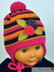 Winter beanie for girl