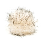 Light fur pompom