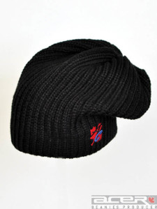 Knitting youth beanie