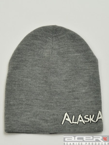 Grey Alaska beanie
