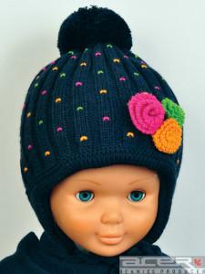 зима шапочка для девочки