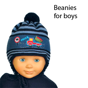 Winter beanies for boys