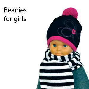 Winter beanies for girls
