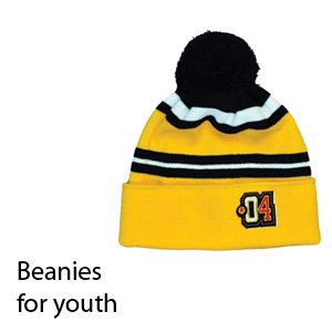 Winter beanies for youth