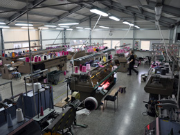 beanies producer - knitting facility