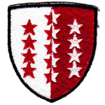 emblem with stars
