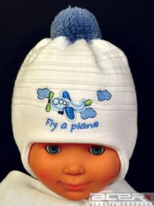Mütze mit Flugzeug