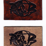 Leather patches for clothing