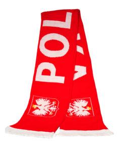 Fußball Schal Polska mit Wappen