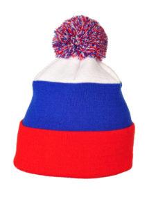 Fan Mütze Flagge Russland