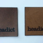 Flexible leather patches